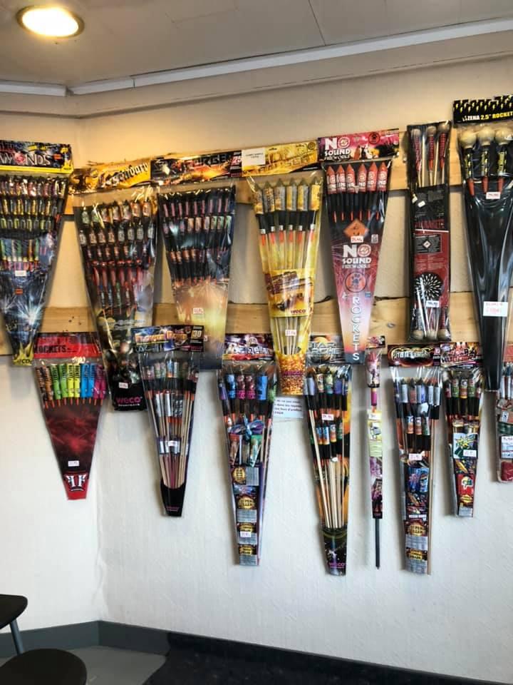 Thierry Albert & fils - feux d'artifice, fusées et pétards Sprimont